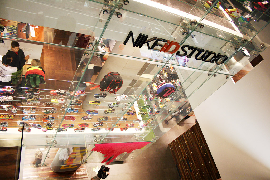 Nike Town, store refurbishment and fit-out